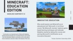 Minecraft: Education Edition by Madeline Humphreys