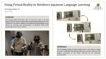 Using Virtual Reality to Reinforce Japanese Language Learning by Christopher Bibat